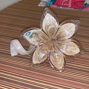 Italian Murano Hand Blown Glass Flower